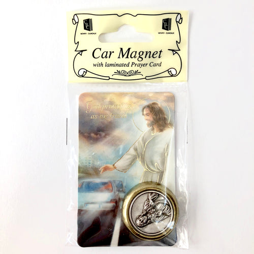 Car Magnet & Prayer Card