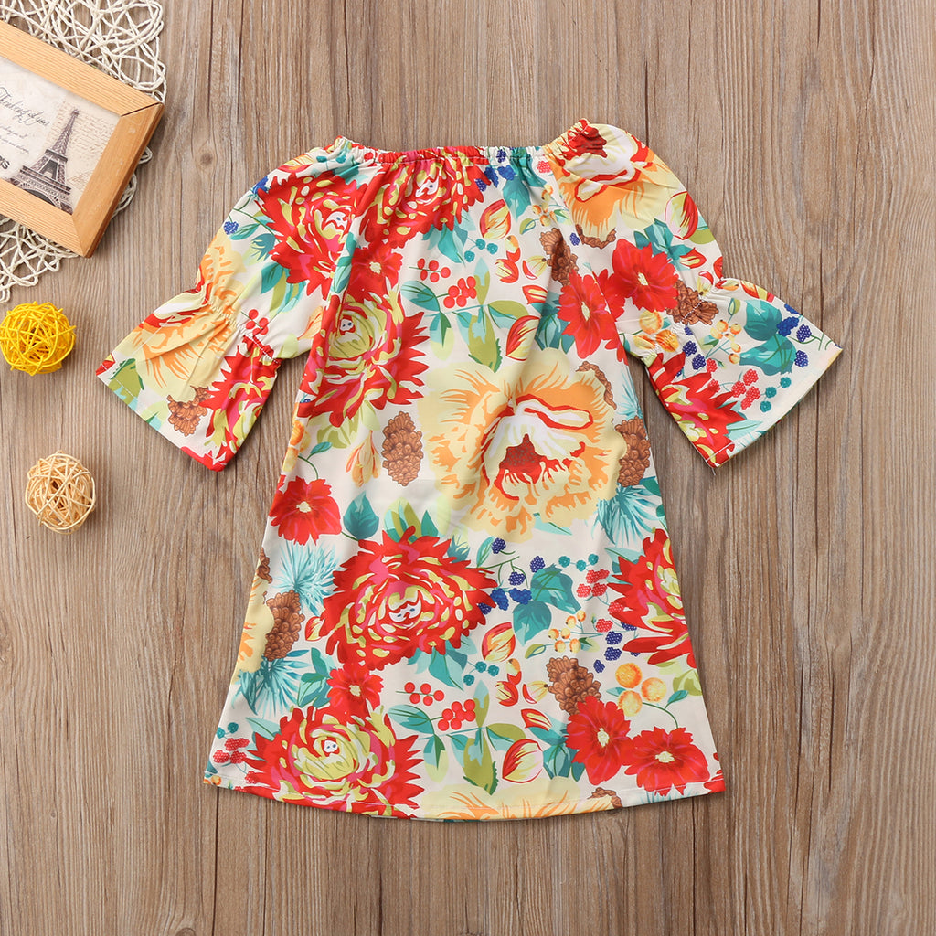 Efflorescence Floral Dress - Dresses - baby-petite
