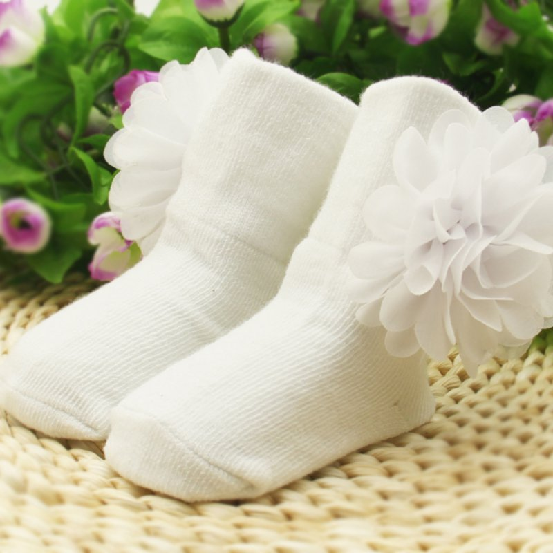 Princess Flower Petals Ankle Socks - Socks - baby-petite