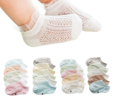 Lacy Baby Socks Set (5 Pair Set)