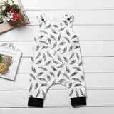Feather Sketch Romper - Rompers - baby-petite