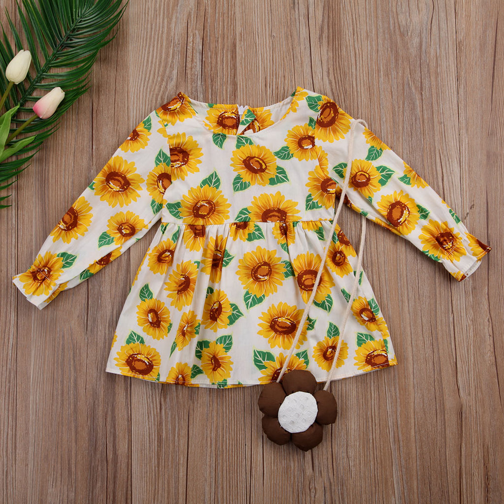 Sunflower Summer Dress - Dresses - baby-petite