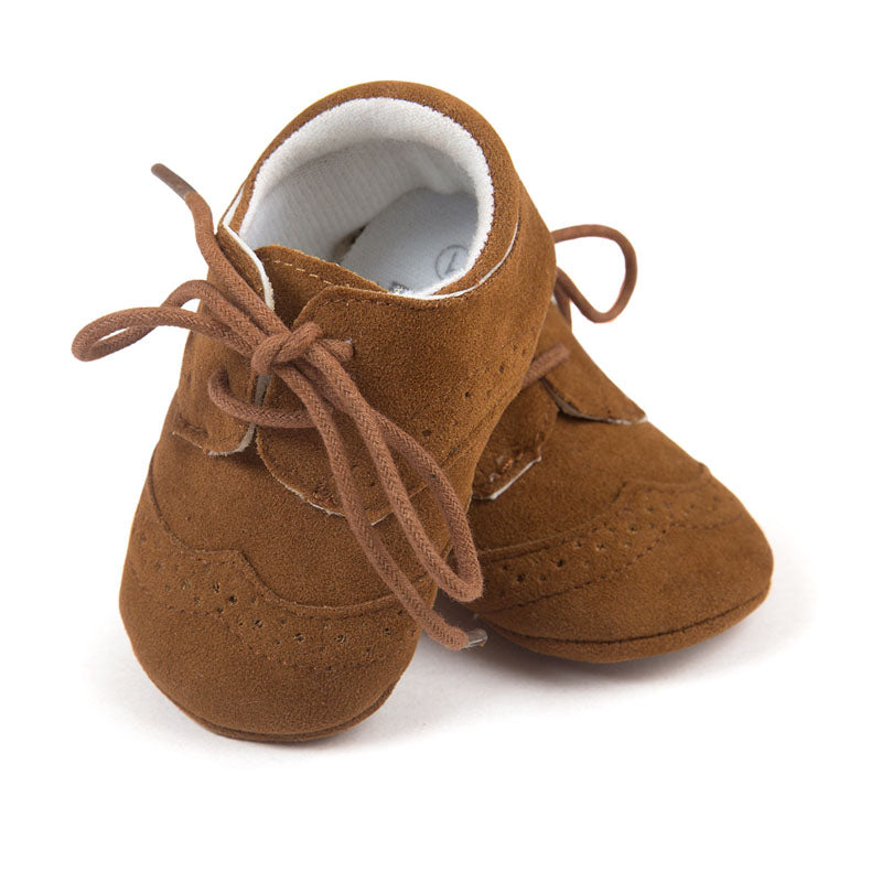 Stacy Lace Tied Moccasins Shoes - Shoes - baby-petite