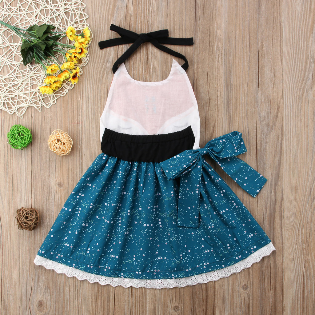 Little Starry Fox  Dress - Dresses - baby-petite