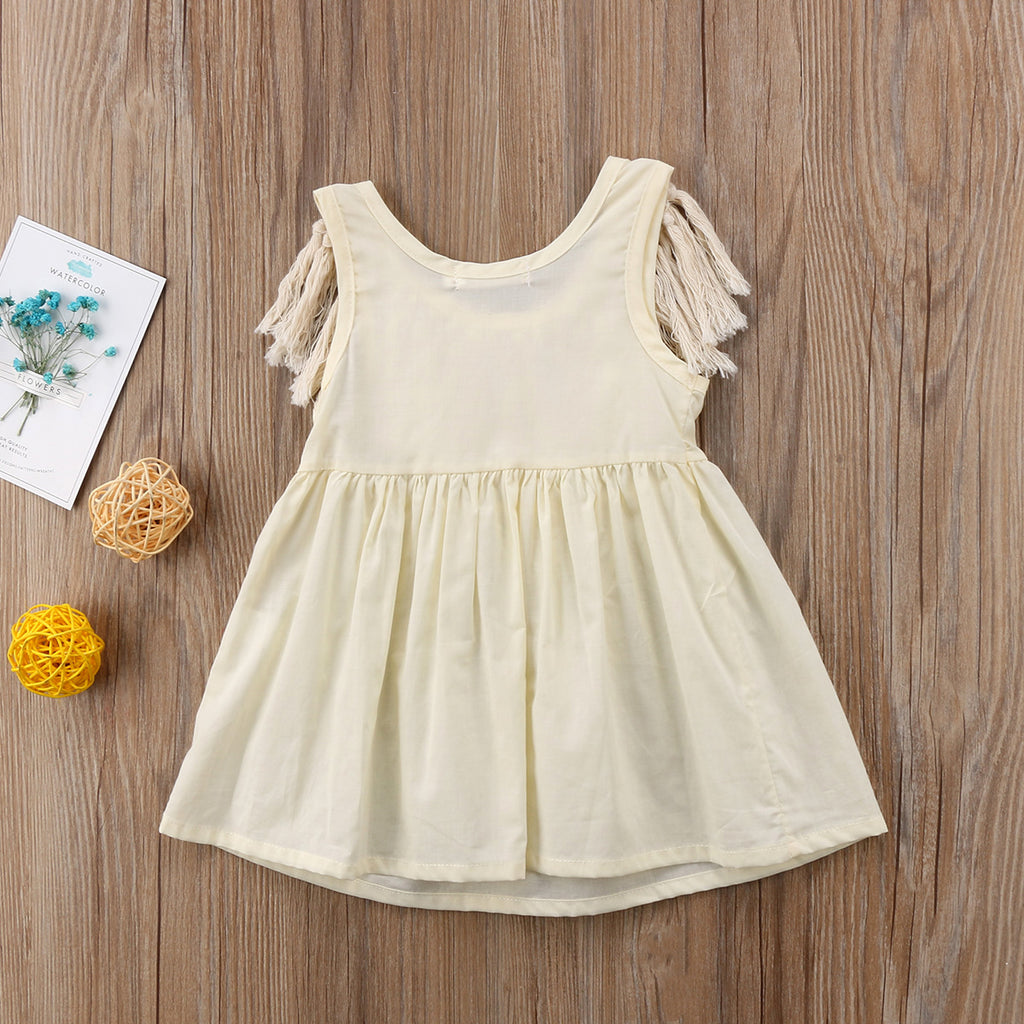 Tassel Midwest Dress - Dresses - baby-petite