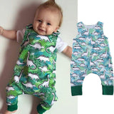 The Dinosaur Jungle Romper - Rompers - baby-petite