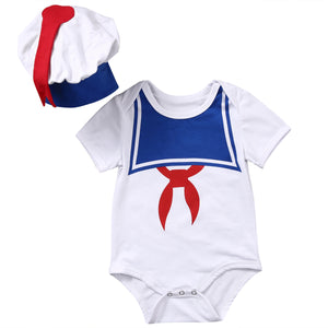 The Sailor Baby Romper and Hat - Rompers - baby-petite