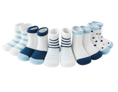 Nautical Striped Socks Set (5 Pair Set)