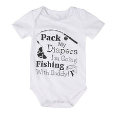 Fishing With Daddy Romper