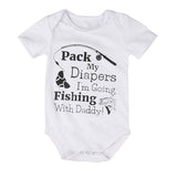 Fishing With Daddy Romper - Rompers - baby-petite