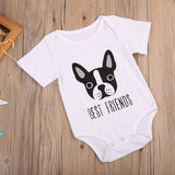 Dog Best Friends Romper - Rompers - baby-petite