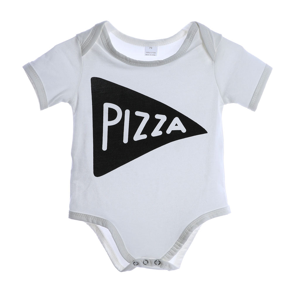 Pizza Triangle Romper - Rompers - baby-petite
