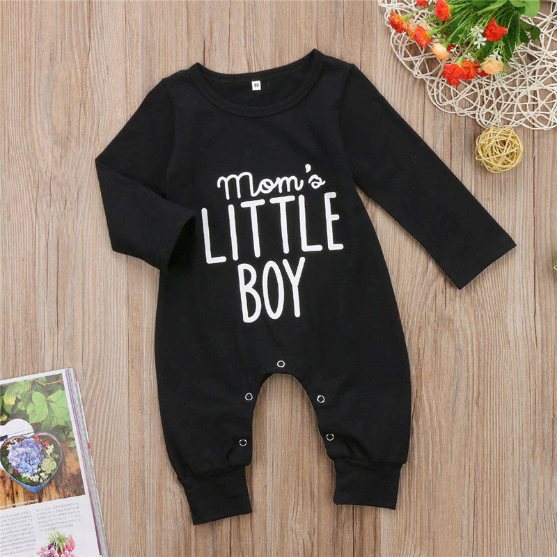 Mom's Little Boy Romper - Rompers - baby-petite
