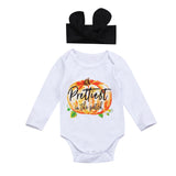 Prettiest Pumpkin In The Patch Romper Set - Rompers - baby-petite