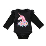 Queen Unicorn Romper - Rompers - baby-petite