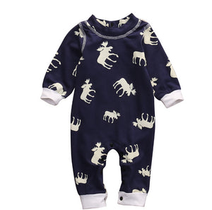 Don't Moose With Me Deer Romper - Kids Petite - Baby & Kids Clothing