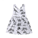 Dinosaur Land Criss-Cross Dress - Dresses - baby-petite