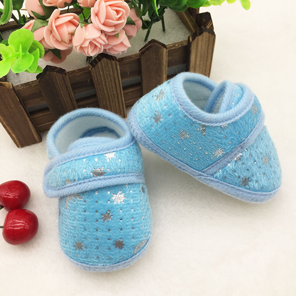 A Starry Night Cotton Shoes - Shoes - baby-petite