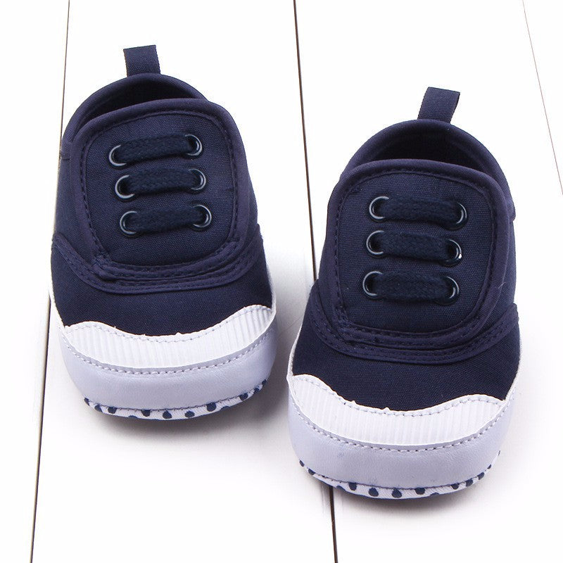 A Walk To Remember Canvas Tied Sneaker Shoes - Shoes - baby-petite