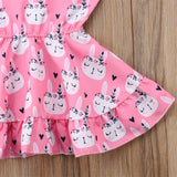 Peace Bunny Dress - Dresses - baby-petite
