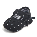 Jumper Fringe Bow Polka Dot Sandal Shoes - Shoes - baby-petite