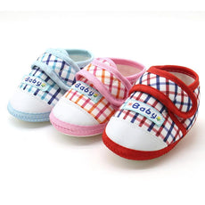Plaid Picnic Strap On Shoes