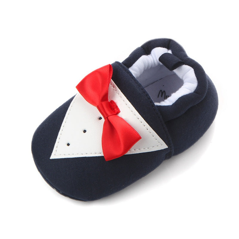 Gentleman Bow Tied Formal Shoes - Shoes - baby-petite