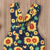 Sunflowers For Helen Floral Dress - Dresses - baby-petite