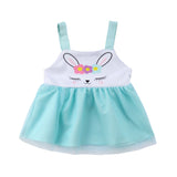 Mint Green Fluffy Bunny Tulle Dress - Dresses - baby-petite