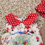 Wonderland Forest Red Polka Dot Romper - Rompers - baby-petite