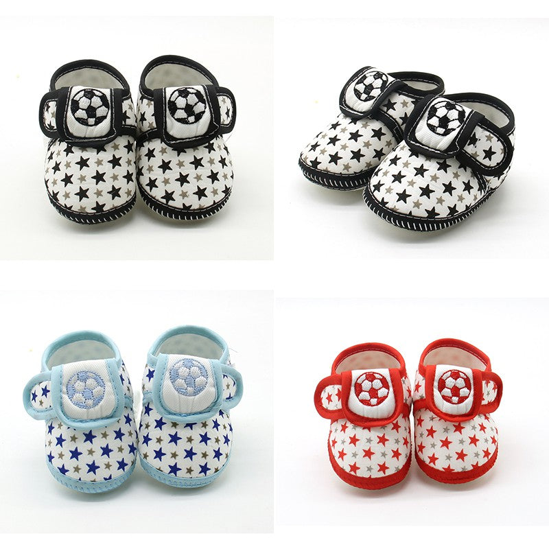 Soccer Star Baby Shoes - Shoes - baby-petite