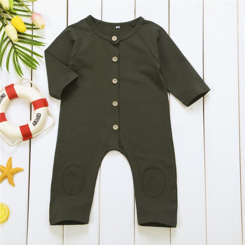 Green Hunter Romper - Kids Petite - Baby & Kids Clothing