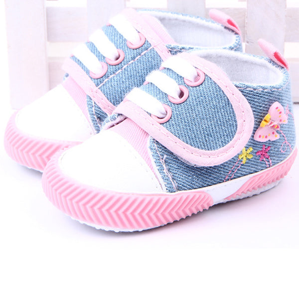 Butterfly Garden Canvas Sneaker Shoes - Shoes - baby-petite