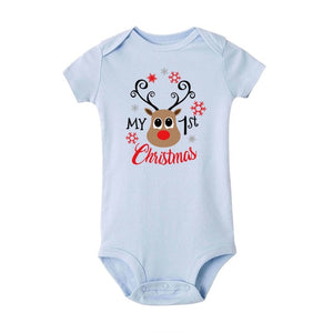 Reindeer's First Christmas Ever Romper