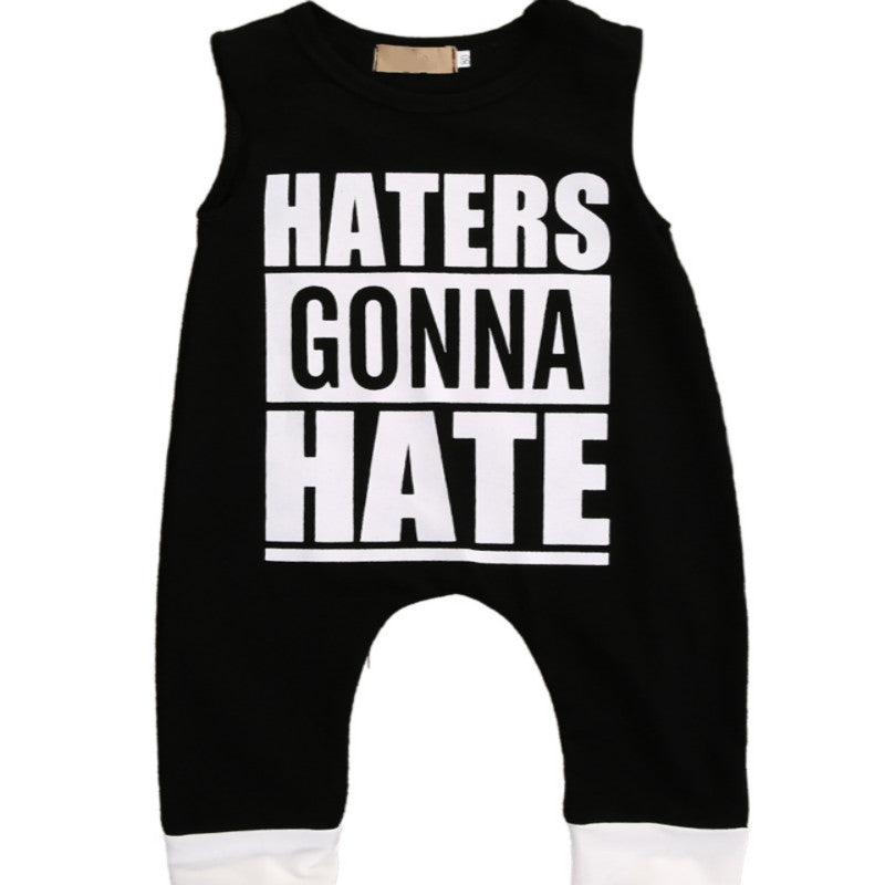 Haters Gonna Hate Baby Romper - Rompers - baby-petite