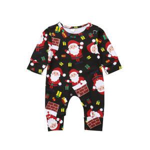 Surprise Part Santa & Gifts Romper