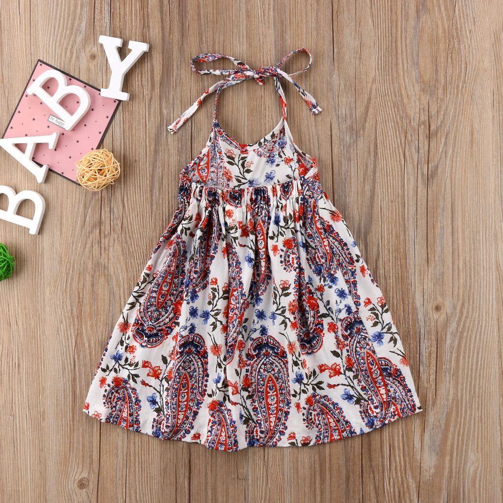 Paisley Sun Dress - Dresses - baby-petite