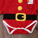 Santa's Good List Romper