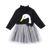 Black Duckling Tulle Party Dress