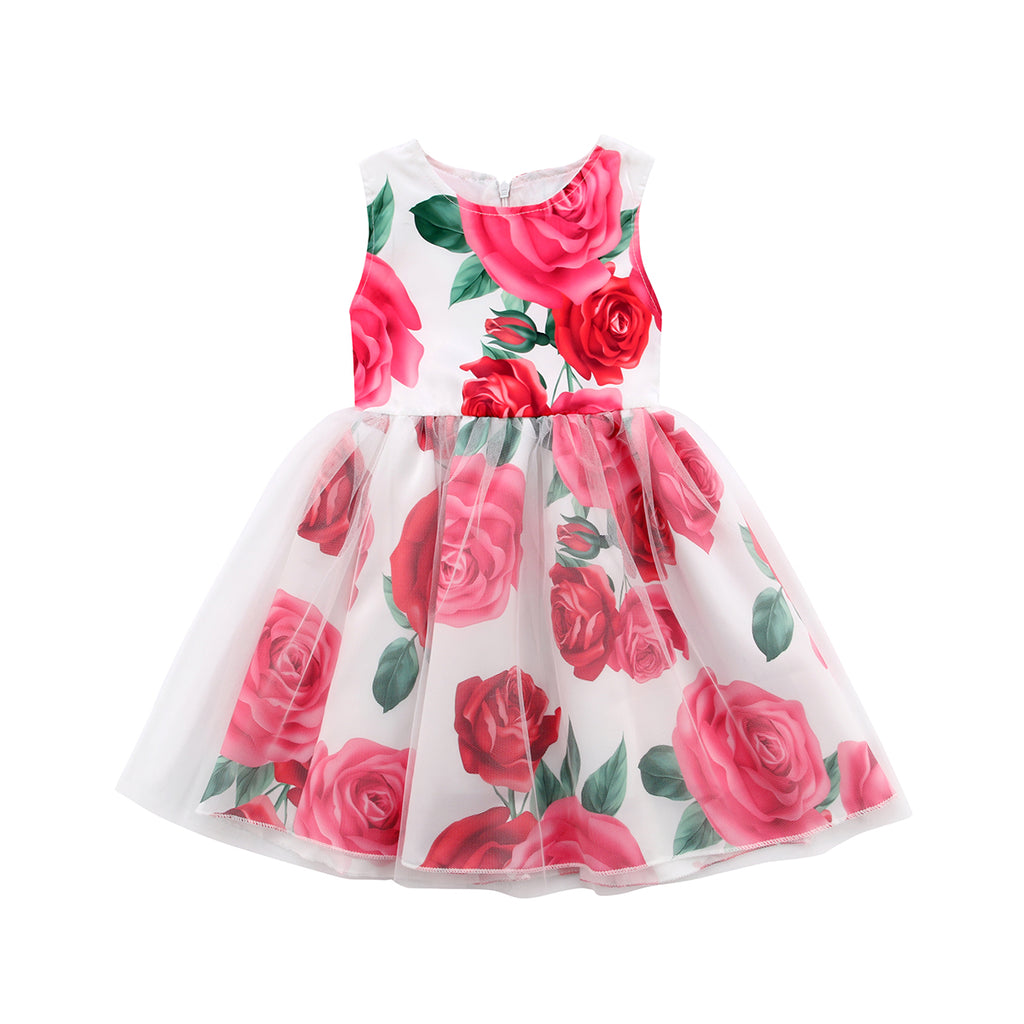 English Rose Ribbon Knot Dress - Dresses - baby-petite