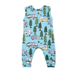 Forest Happy Camper Romper - Kids Petite - Baby & Kids Clothing