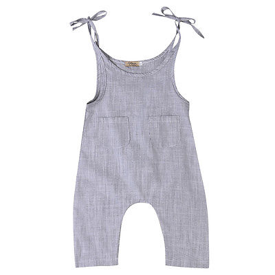 Overlay Grey Lace Rompers - Rompers - baby-petite