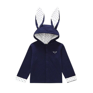 Little Polka Dot Bunny Hooded Jacket