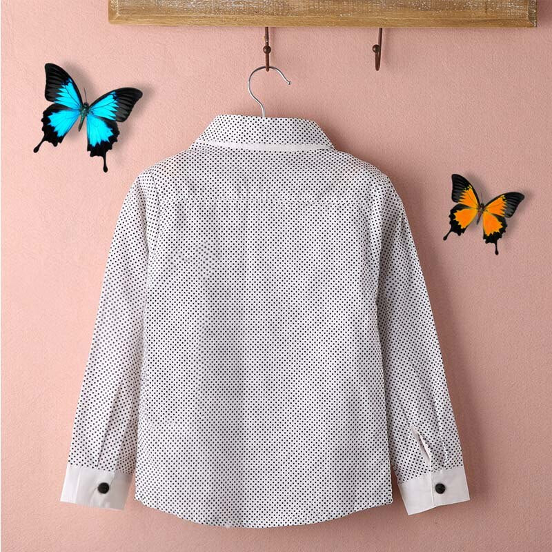Formal Plain Casual Sleeved Cotton Shirt