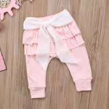 Sweet Princess Bow Pink Pants