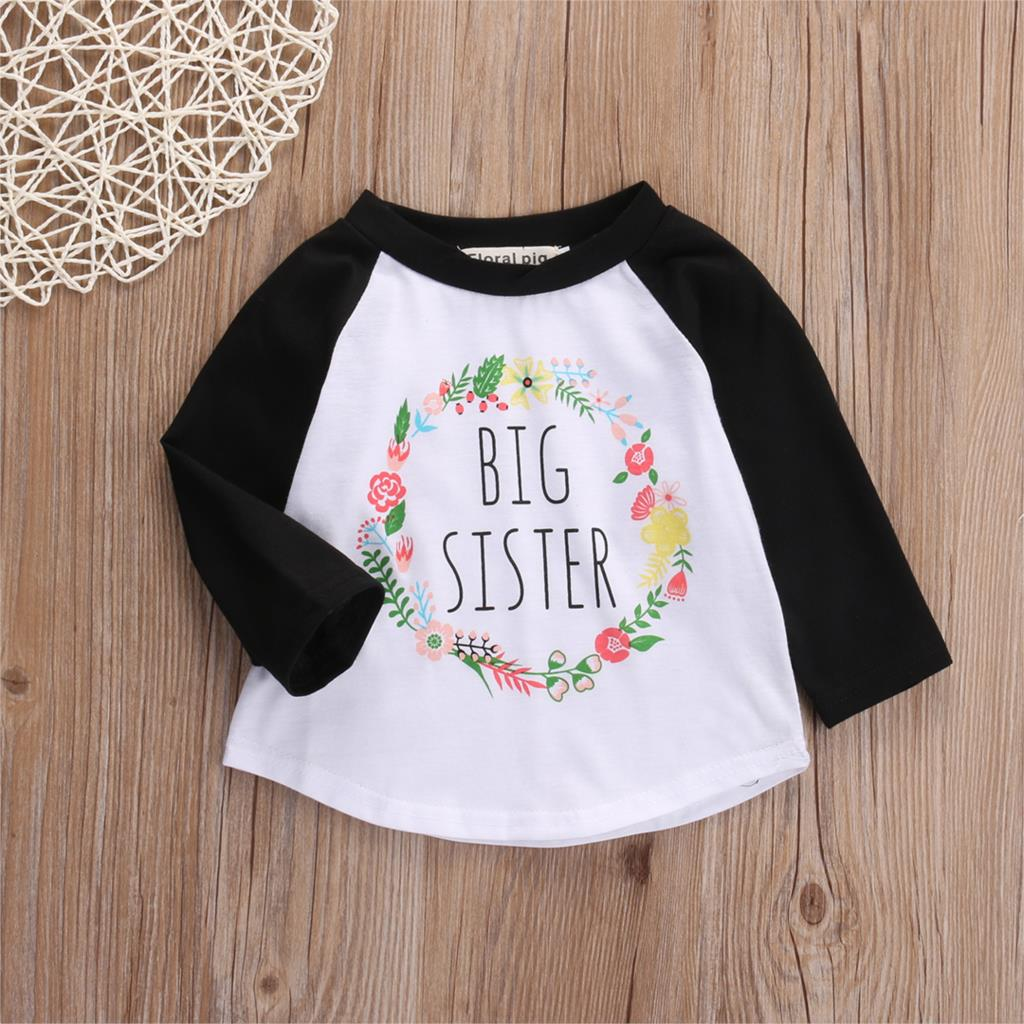 Big Sister Baseball Casual Cotton T-Shirt