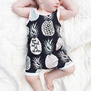 You Had Me At Aloha Pineapple Romper