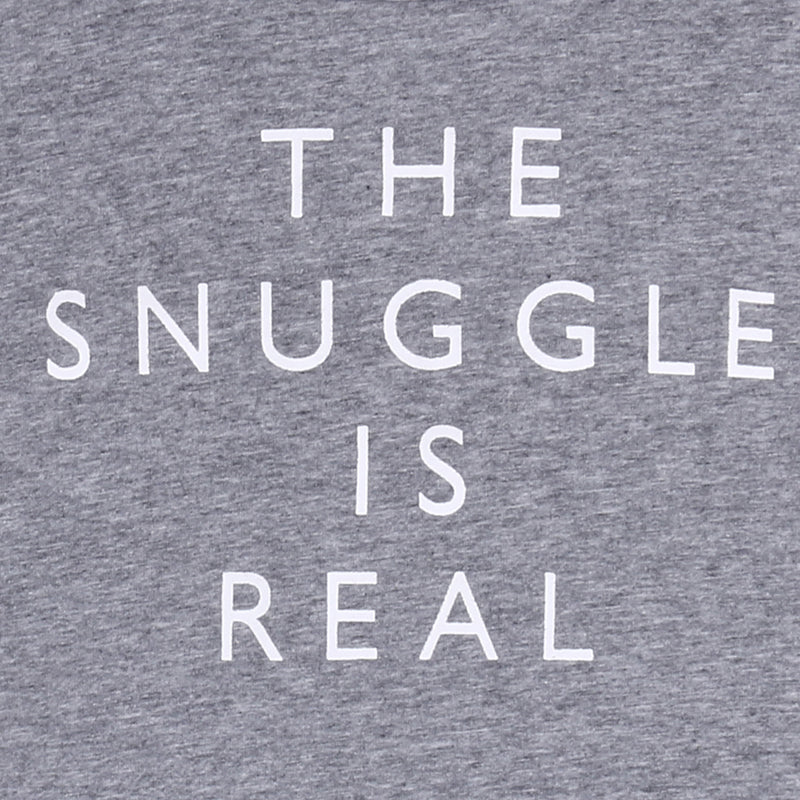 The Snuggle Is Real Cotton T-Shirt