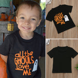 All The Ghouls Love Me T-Shirt - Tops - baby-petite