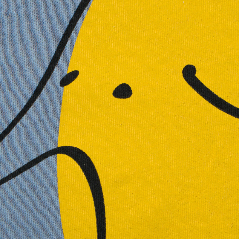 Yellow Doodle Elephant Casual Cotton T-Shirt - Tops - baby-petite